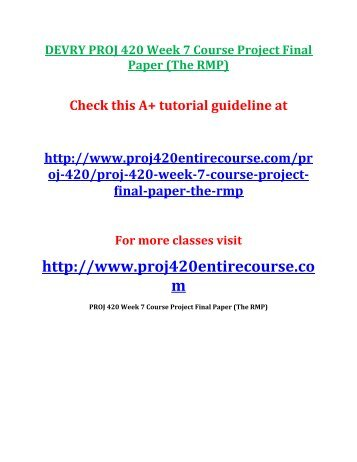 week 7 assignment busn 420 Free essay: busn 420 entire course business law – devry to buy this class copy & paste below link in your brower home page writing busn 420 entire course business law – devry essay  busn 420 week 7 assignment busn 420 week 8 exam answers question 1 1 (tco 1).
