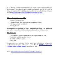QuickBooks Server Installation Support Helpline Number