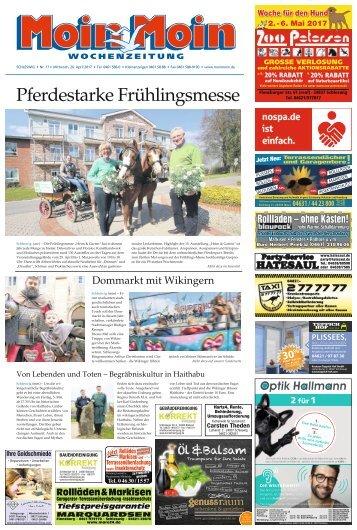 MoinMoin Schleswig 17 2017