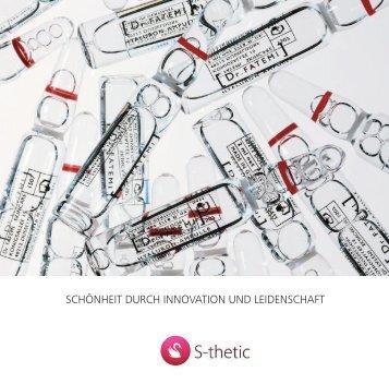 S-thetic-Shop-Broschüre