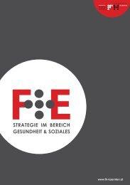 F+E Strategie im Bereich Gesundheit & Soziales