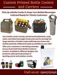Custom Printed Bottle Coolers   Vivid Promotions