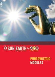Photovoltaic- Modules - SiG Solar GmbH