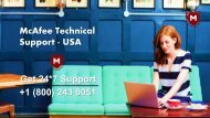 How to Fix the McAfee Error Code 1603| 1800-243-0051 McAfee Support
