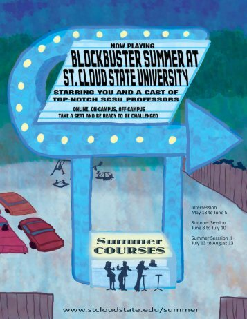 summer session courses - St. Cloud State University