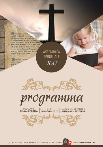 libretto informativo dell'Assemblea nel 2017
