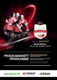 Final Four Programme / Programmheft
