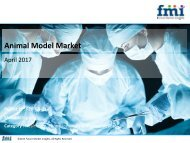 Releases New Report on the Animal Model Market