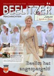 Beelitzer Nachrichten - April 2017