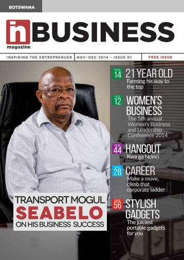 inBUSINESS Issue 01