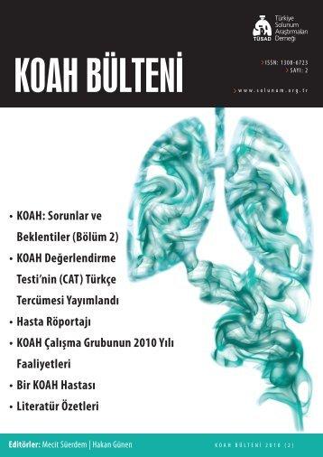 KOAH Bülteni 2010 Sayı 2