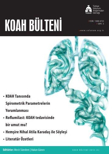 KOAH Bülteni 2010 Sayı 3