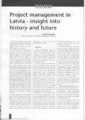 """Žurnāls """"Projektu vadīšana"""" Nr.1999/1 - Page 3"""