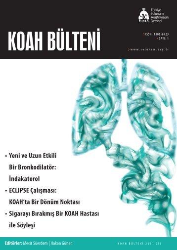 KOAH Bülteni 2011 Sayı 1