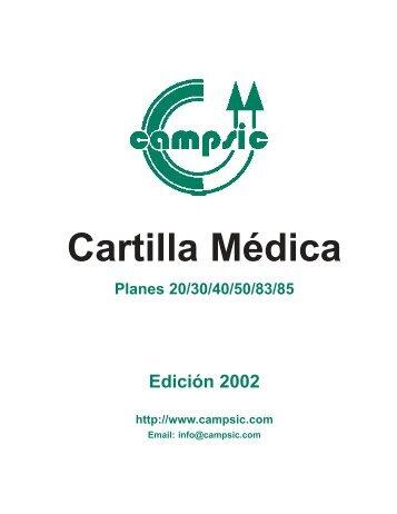 CAMPSIC - Cartilla 2002