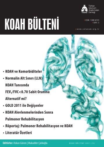 KOAH Bülteni 2011 Sayı 3