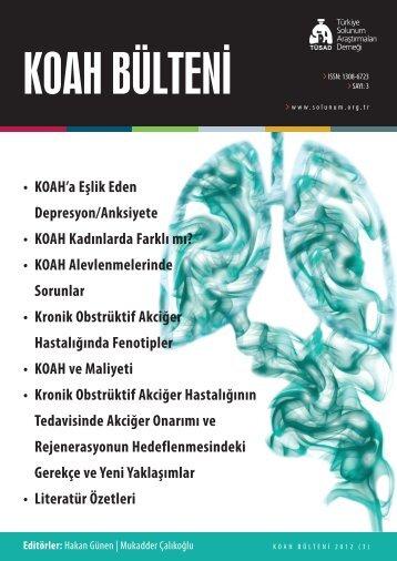 KOAH Bülteni 2012 Sayı 3