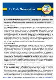 Newsletter vom 06.5.2010 - Top-Platz