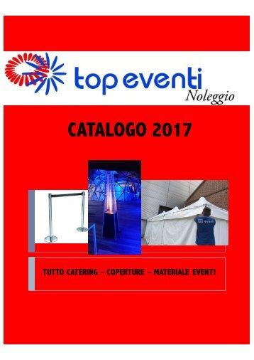 Catalogo Noleggi 2017 Top Eventi