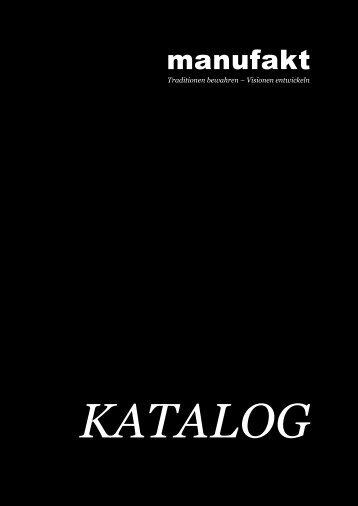 manufakt Katalog 2017