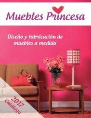 Catálogo Muebles Princesa 2017