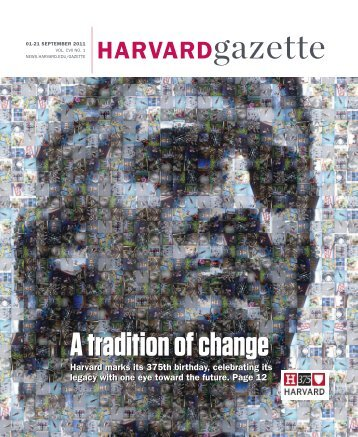 HARVARDgazette - Harvard News Office - Harvard University