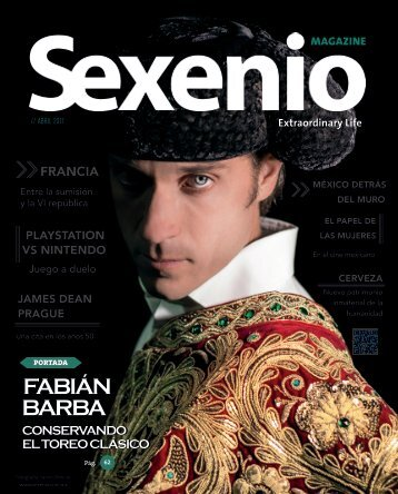 Sexenio Magazine Abril