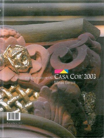 Casa Cor 2003 Minas Gerais