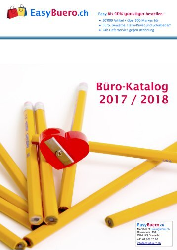 www.EasyBuero.ch - Bürobedarf Katalog