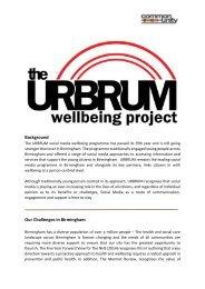 URBRUM  Social Media Wellbeing Programme