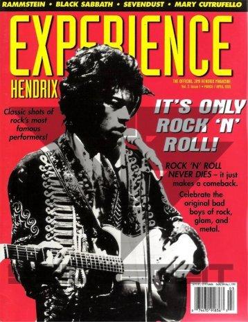 1999.03-04.xx - Experience Hendrix