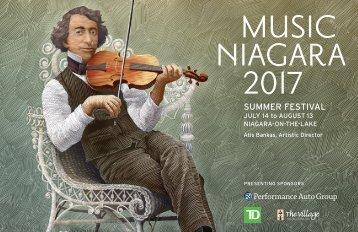 Music Niagara 2017 Handbook