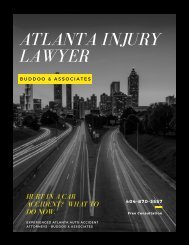 Buddoo Personal Injury Lawyer Practice Areas Atlanta Auto Accidents
