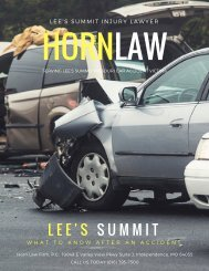 Lee's Summit Injury Lawyer Horn Law Firm, P.C.