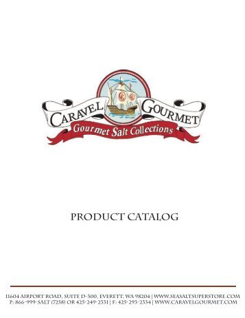Caravel Gourmet - Product Catalog