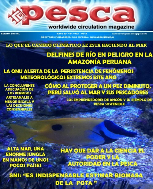 Revista Pesca mayo 2017