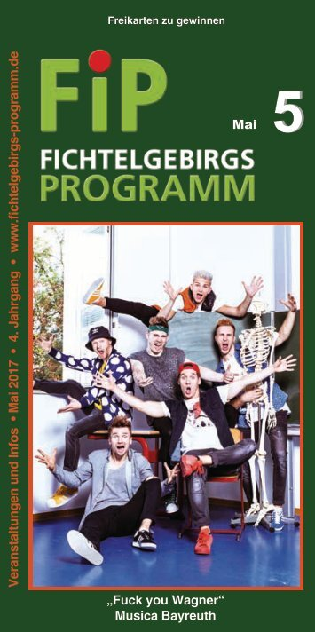 Fichtelgebirgs-Programm - Mai 2017