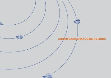 Ahmed Ramadhan Juma Corporate Brochure - ARJ Group