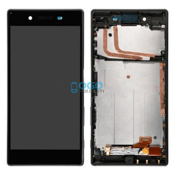 For Sony Xperia Z5 LCD & Digitizer Touch Screen Assembly With Frame - Black
