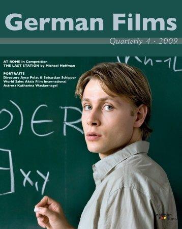 Quarterly 4 · 2009 - German Films