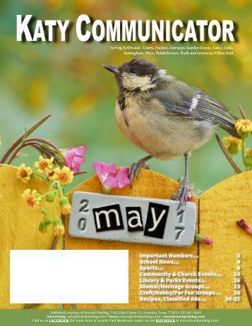 Katy Communicator May 2017