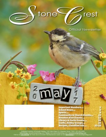 Stone Crest May 2017