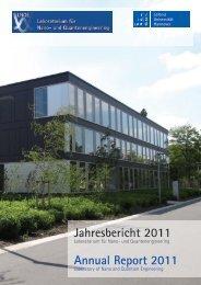Jahresbericht 2011 - LNQE - Leibniz Universität Hannover