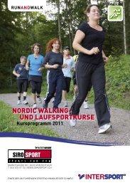 Kursprogramm 2011 - Siro Sport