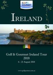 Final Ireland tour