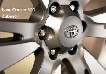 Land Cruiser 300 Zubehör - Toyota