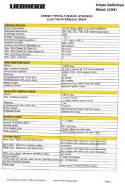 Crane Definition Sheet (ODS) CRANE TYPE RL-T 2650-50 ...