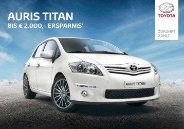AURIS TITAN - Toyota