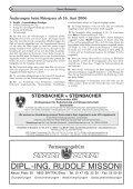 TErMINE IM SOMMEr 2006 Unkostenbeitrag: E 3,– Beginn - Seite 6