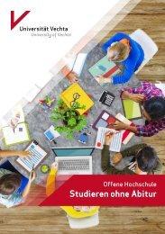 Offene Hochschule - Studieren ohne Abitur